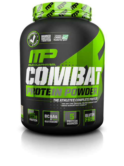 MusclePharm Combat Hybrid Protein Powder (4LB)