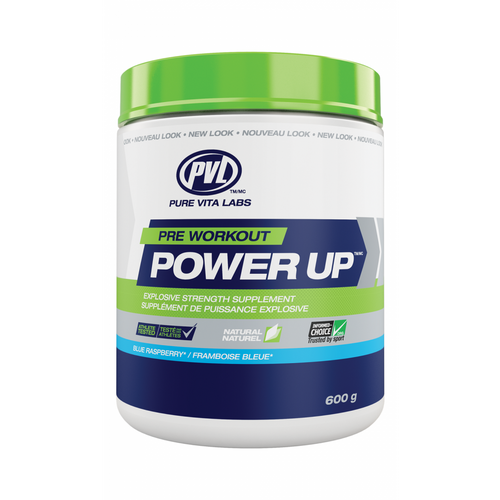 PVL Power Up All Natural Pre Workout (30 Servings)