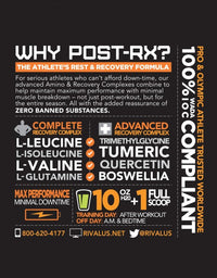 Rivalus Post RX Post-Workout (45 Servings)
