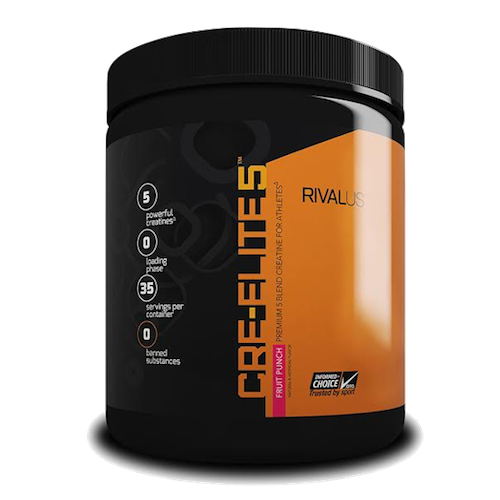 Rivalus CRE-ELITE5 Flavoured Creatine Blend (322g)
