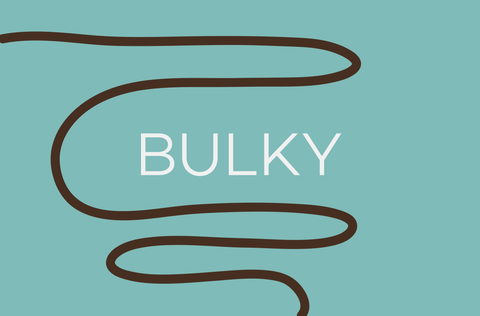 Bulky (~14-15 sts per 10cm)
