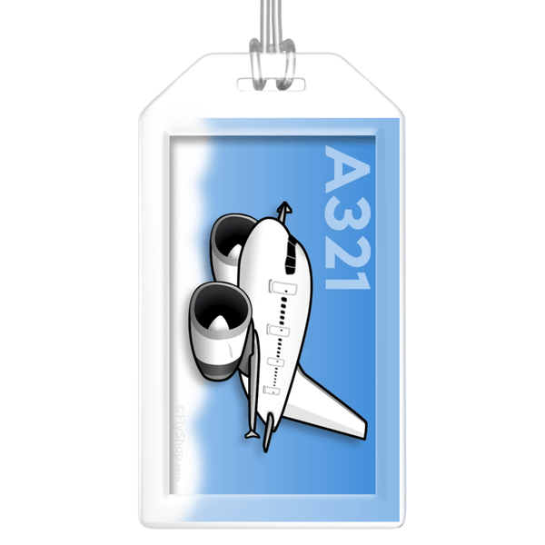 Airbus A321 Bag Tag (IAE)