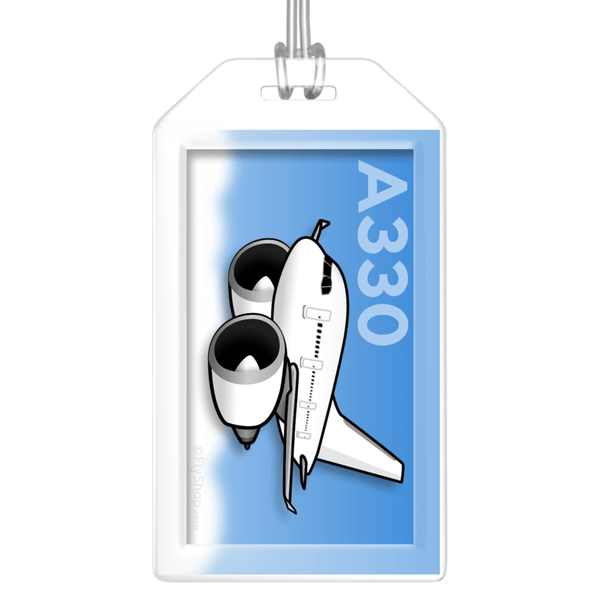 Airbus A330 Bag Tag (P&W)