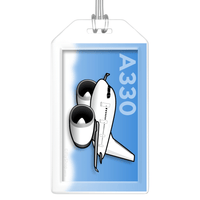 Airbus A330 Bag Tag (RR)