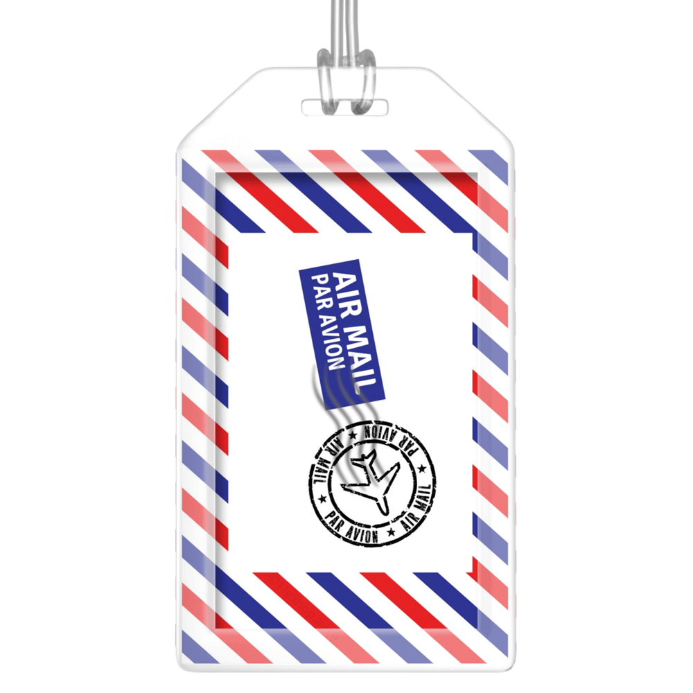 Air Mail (Par Avion) Bag Tag