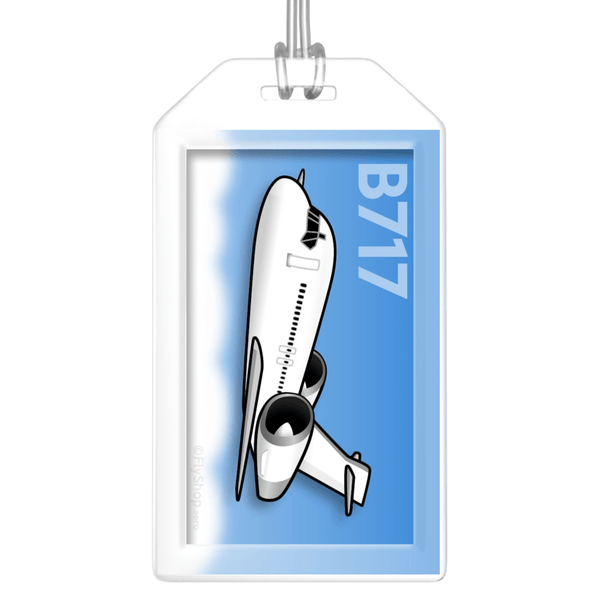 Boeing 717 Bag Tag