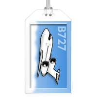 Boeing 727-100 Bag Tag
