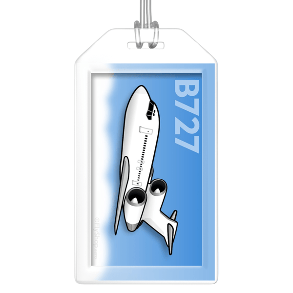 Boeing 727-200 Bag Tag