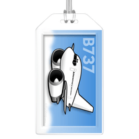Boeing 737 Classic Bag Tag