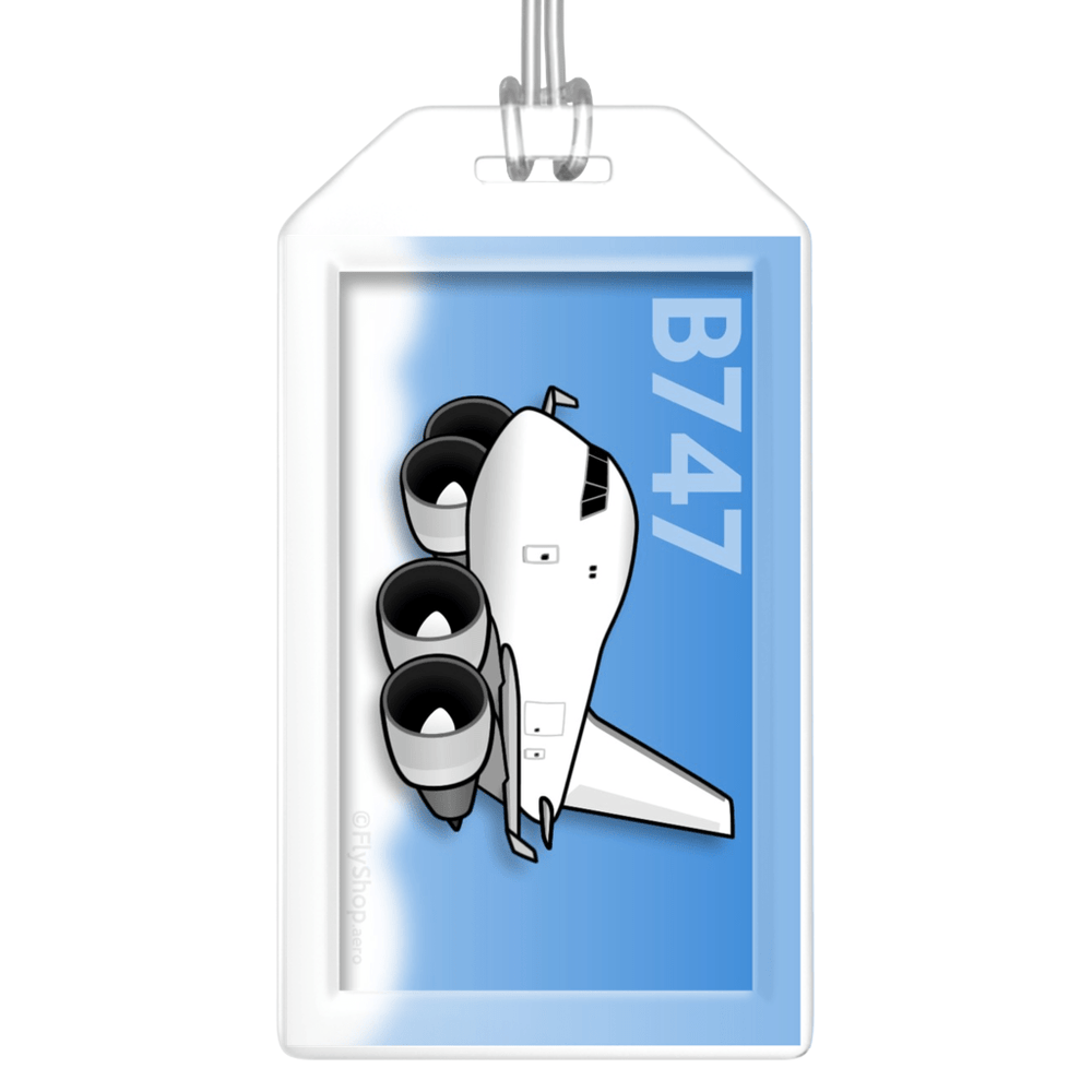 Boeing 747 Classic Freighter Bag Tag