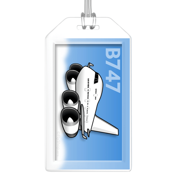 Boeing 747-400 Bag Tag