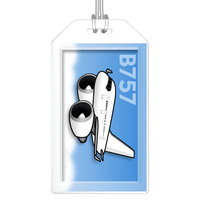 Boeing 757-200 (P&W) Bag Tag