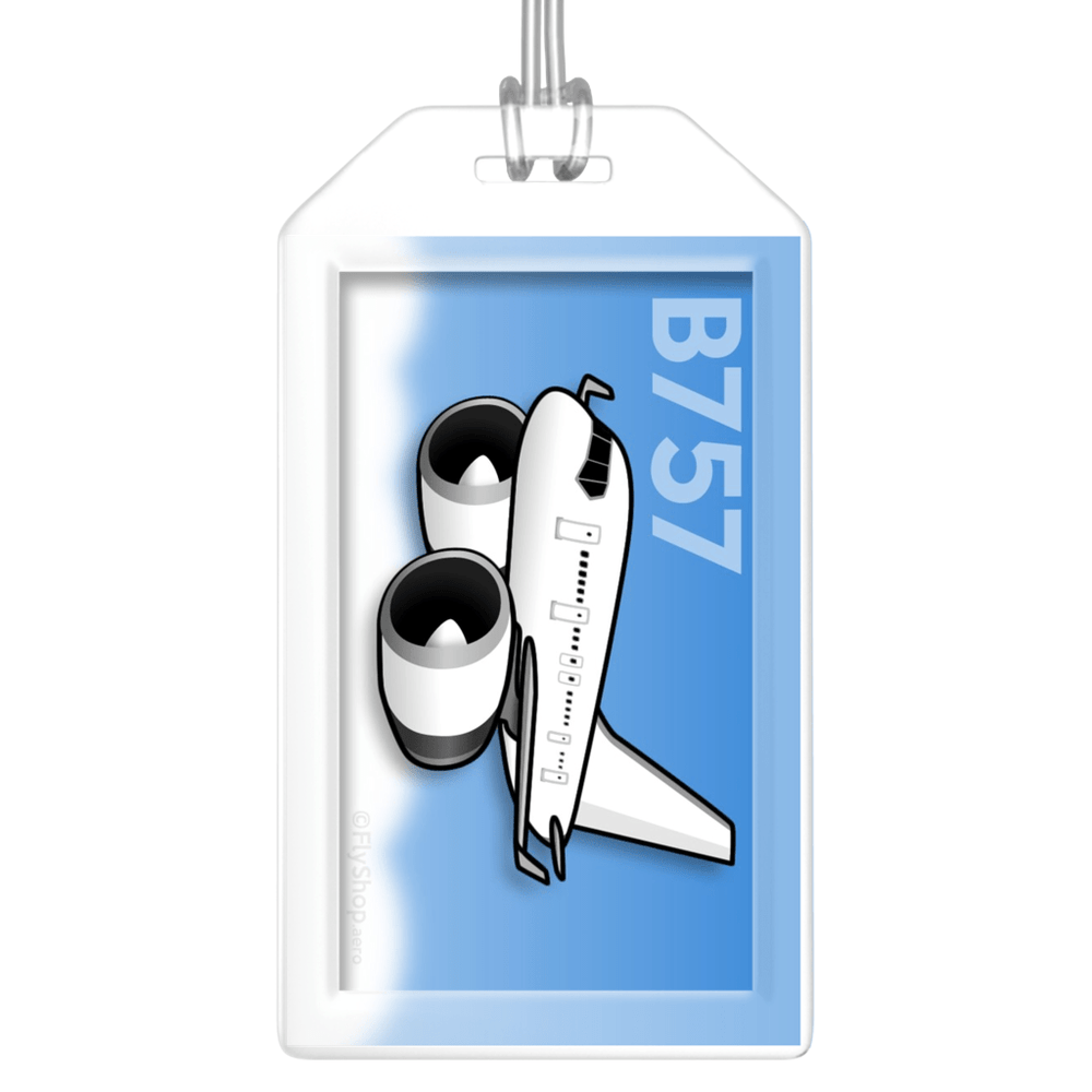 Boeing 757-300 (RR) Bag Tag