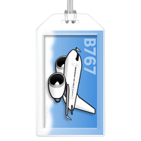 Boeing 767-300 Bag Tag