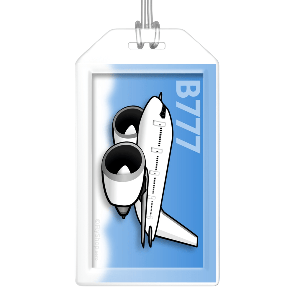Boeing 777-300 Bag Tag