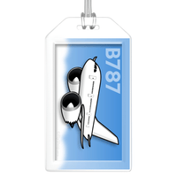 Boeing 787-800 Bag Tag