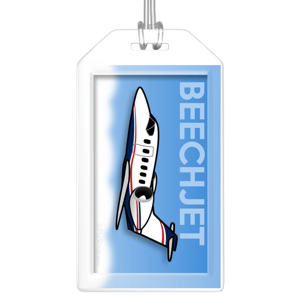 Beechcraft Beechjet Bag Tag