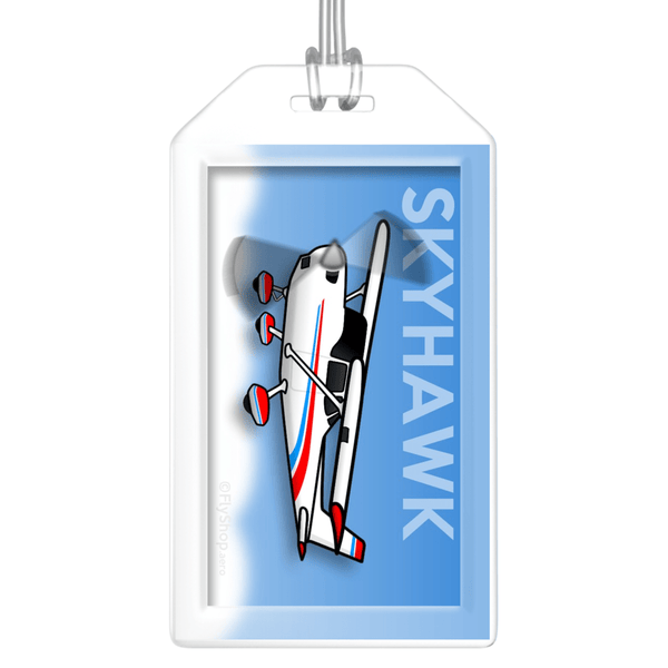 Cessna 172 Skyhawk Bag Tag