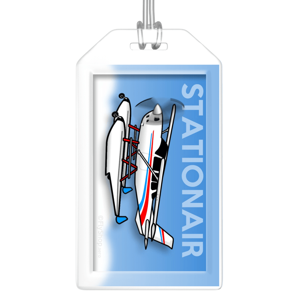 Cessna Stationair (on floats) Bag Tag