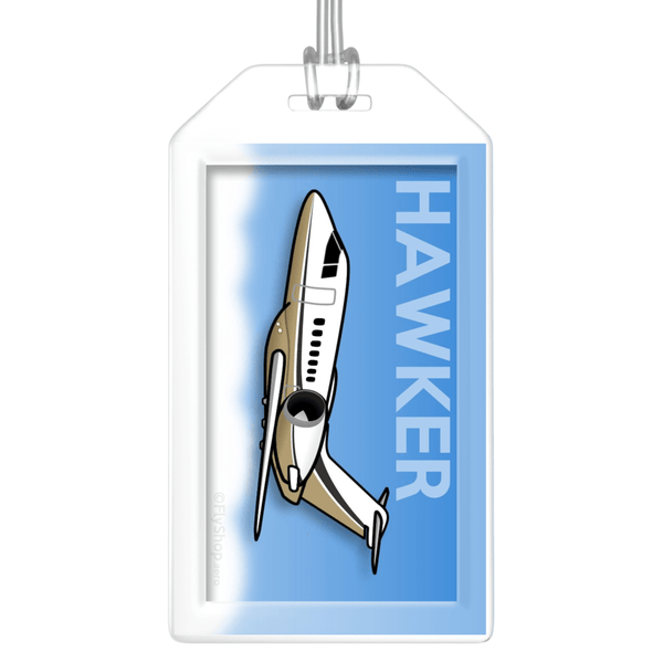 Hawker 4000 Bag Tag