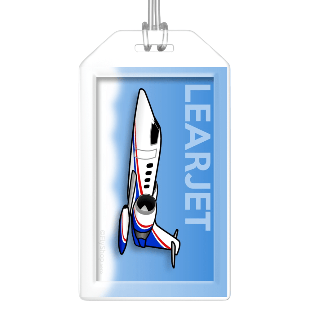 Learjet 35 Bag Tag