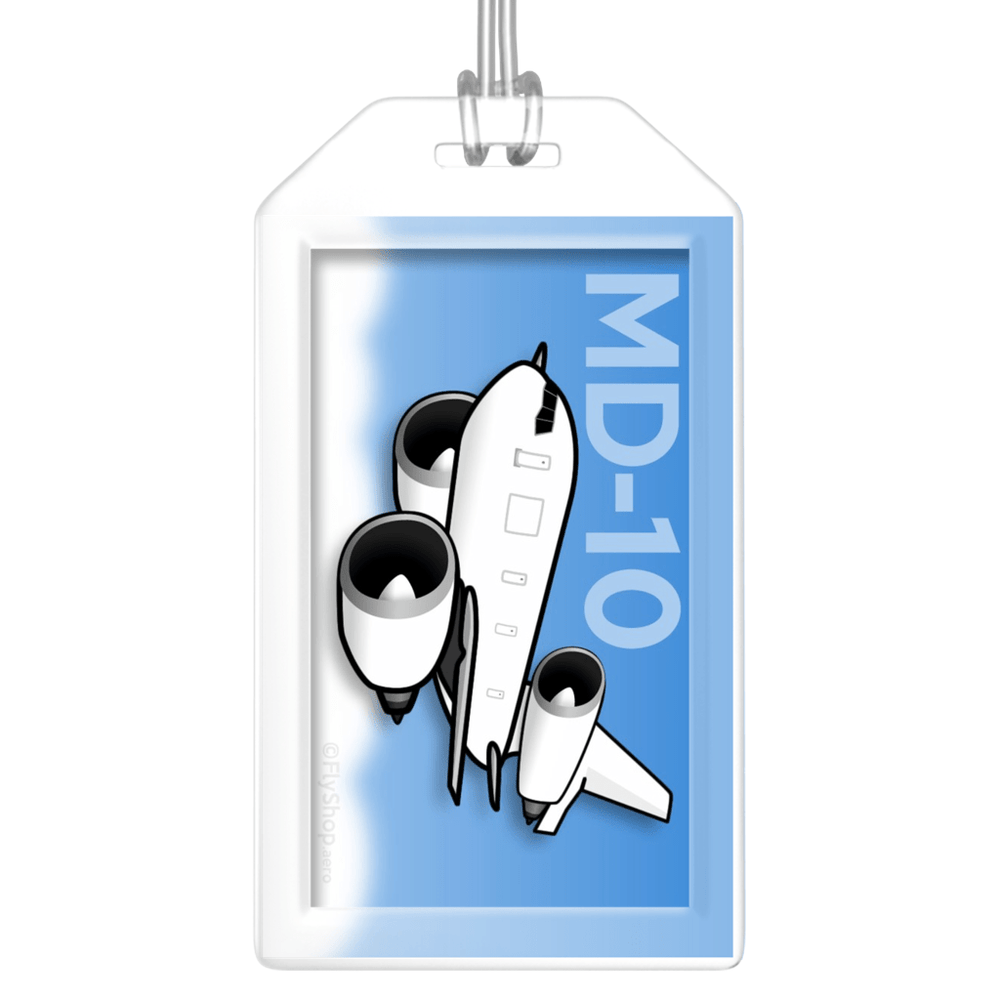 McDonnell Douglas MD-10 Bag Tag