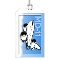 McDonnell Douglas MD-11 Bag Tag