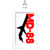 Sleek Silhouette MD-88 Bag Tag