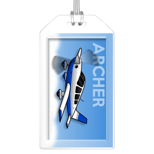 Piper Archer Bag Tag