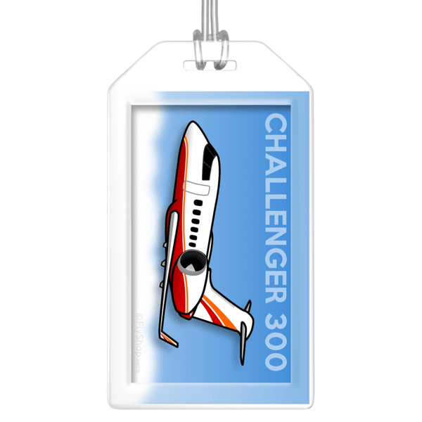Bombardier Challenger 300 Bag Tag