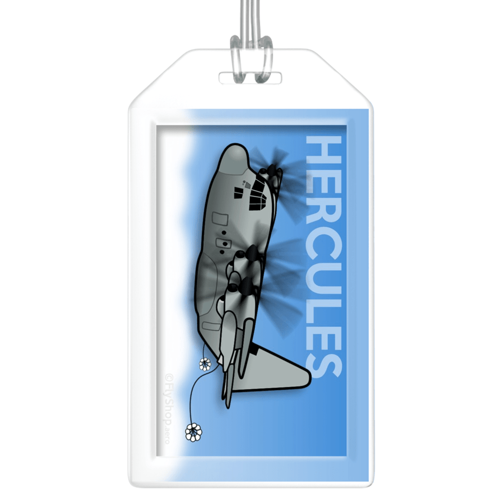 KC-130 Hercules Bag Tag