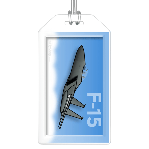 F-15 Eagle Bag Tag