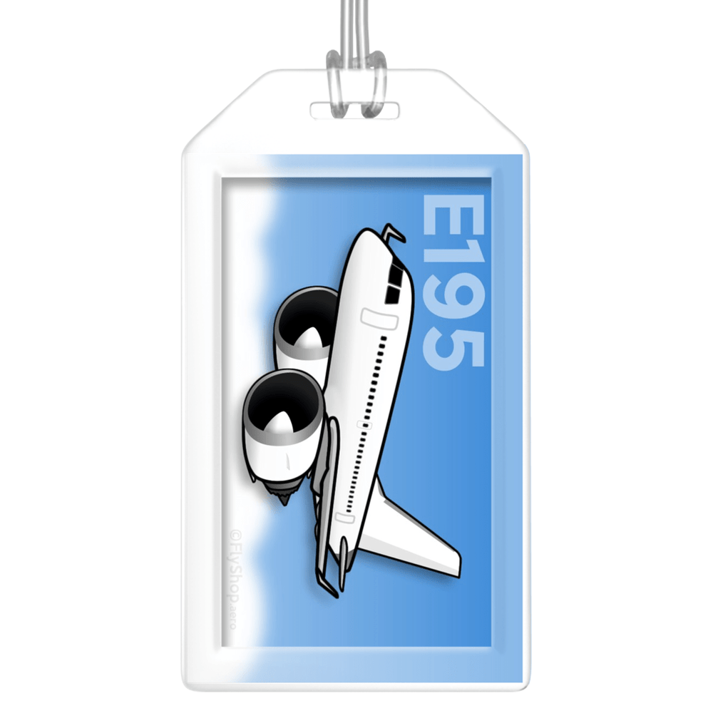 Embraer E195 Bag Tag