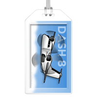 Dash 8 (Q200/Q300) Bag Tag