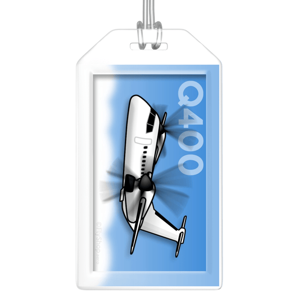 Dash 8 (Q400) Bag Tag