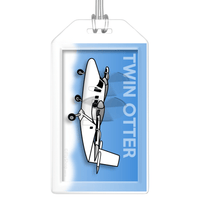 Twin Otter Bag Tag