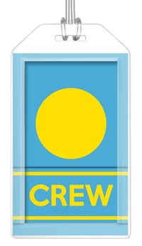 Palau Flag Crew Bag Tag (Set of 2)