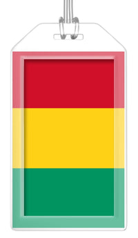 Guinea Flag Bag Tag (Set of 2)