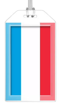 Luxembourg Flag Bag Tag (Set of 2)