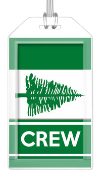 Norfolk Island Flag Crew Bag Tag (Set of 2)