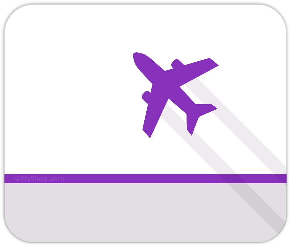 Modern Flight (Light) Mousepad