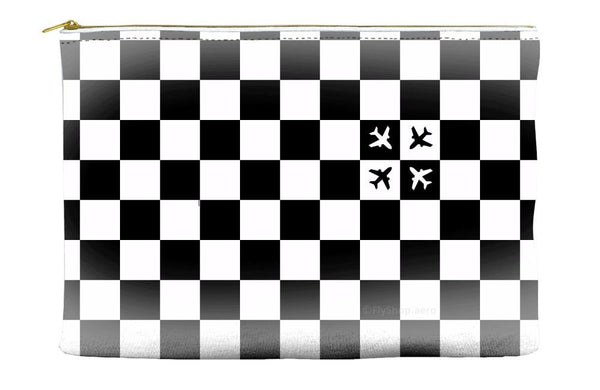 Checkered Flight Pouch (Small Pattern)