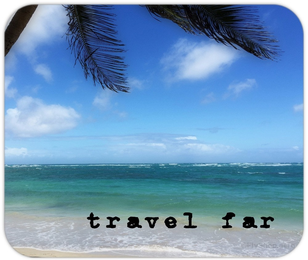 Travel Far St. Lucia Mousepad