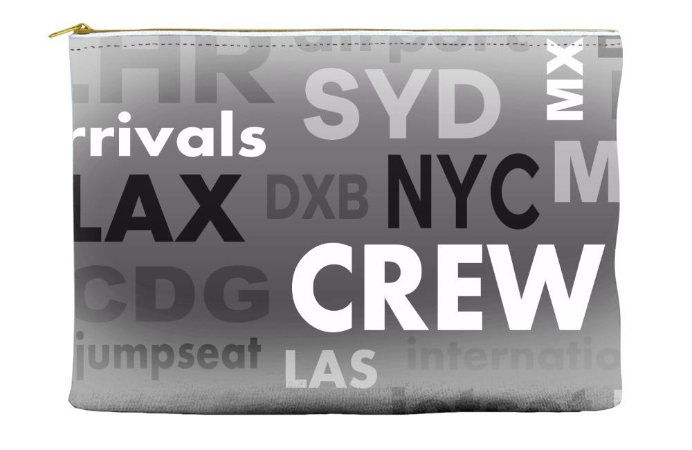 Crew Word Soup Pouch