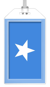 Somalia Flag Bag Tag (Set of 2)