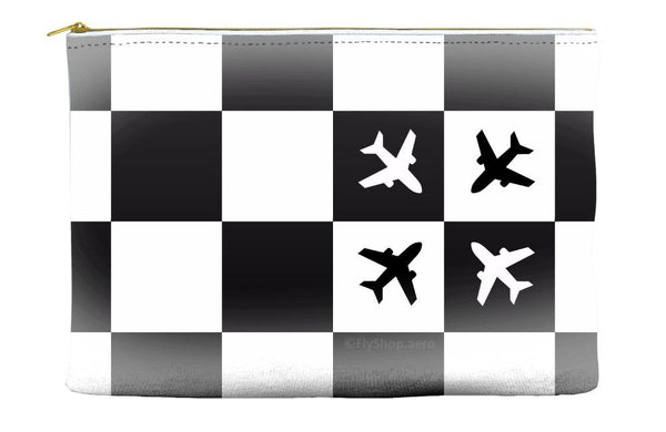 Checkered Flight Pouch (Large Pattern)