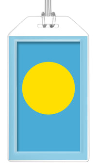 Palau Flag Bag Tag (Set of 2)