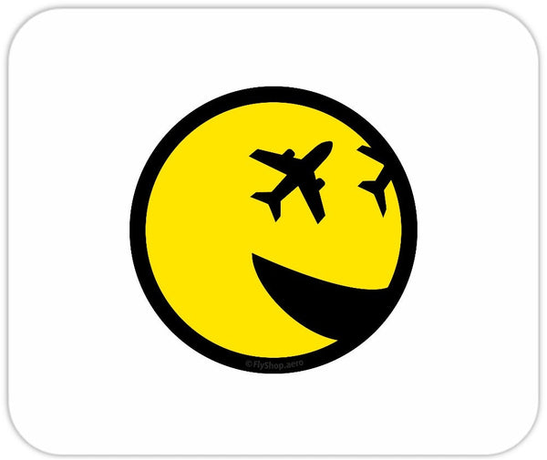 Fly Smiley Mousepad