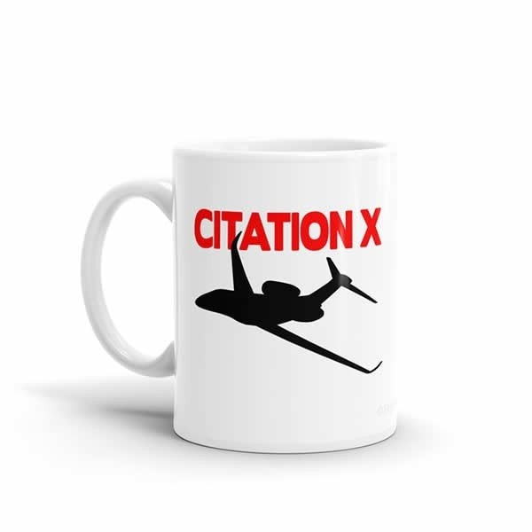 Sleek Silhouette Citation X Mug