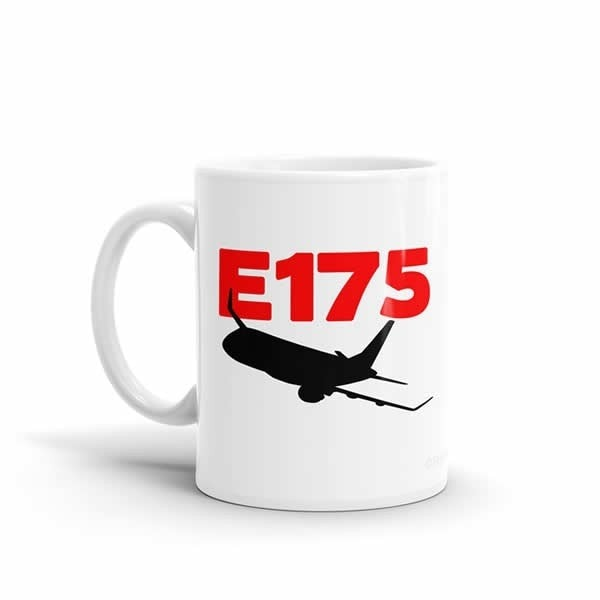 Sleek Silhouette E175 Mug